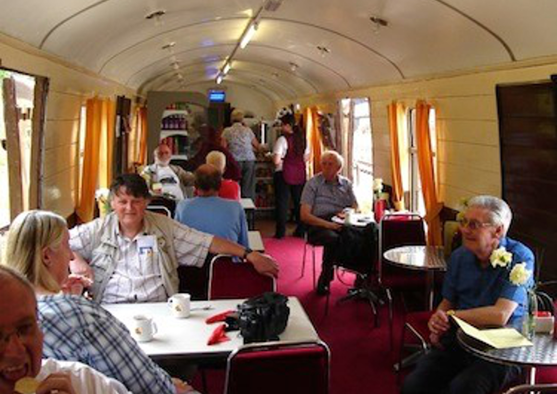 Ecclesbourne Valley Railway Pullman Buffet Car