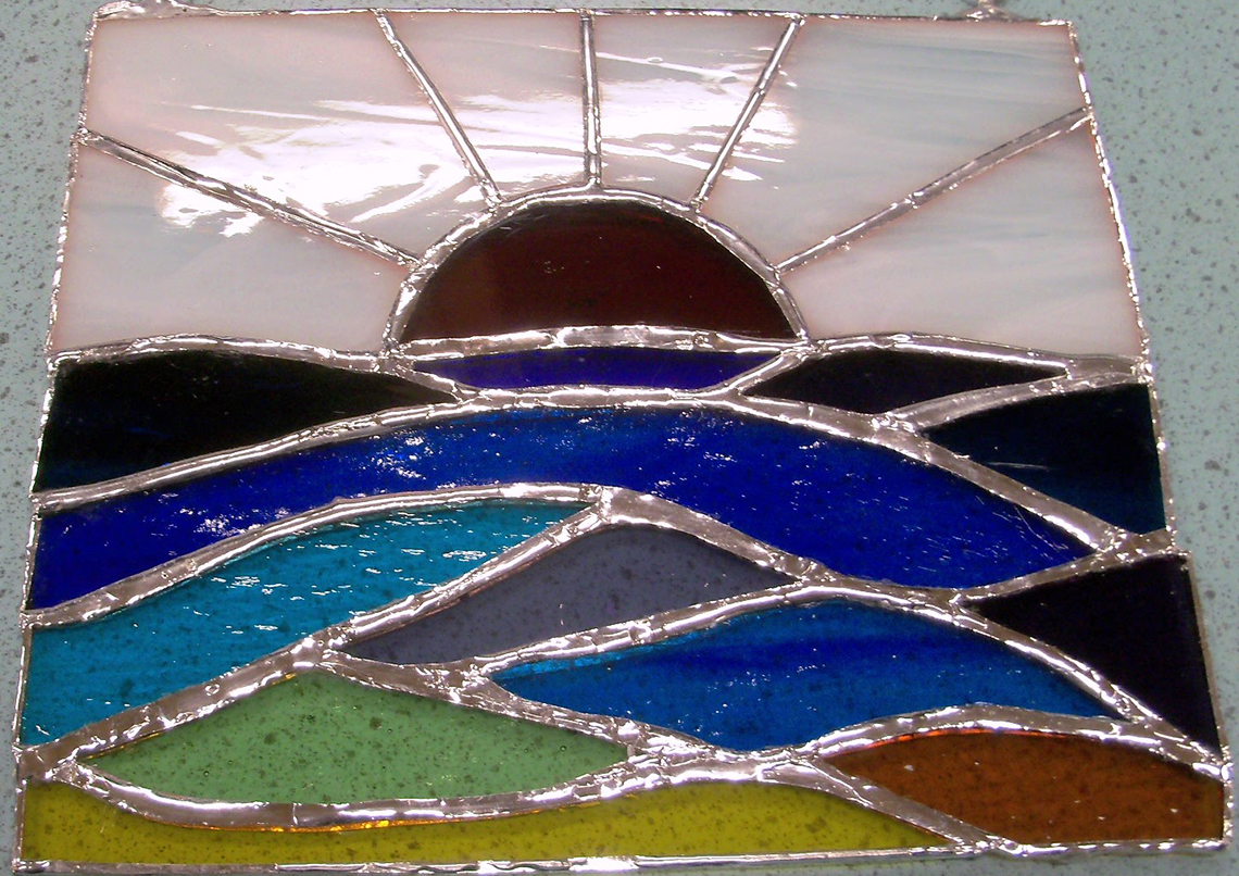 Stained Glass – An Introduction to Copper Foil Work