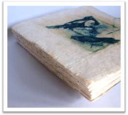 Make Recycled Eco-printed Artist Books