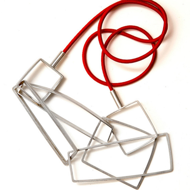 Angled Multi-link Necklace