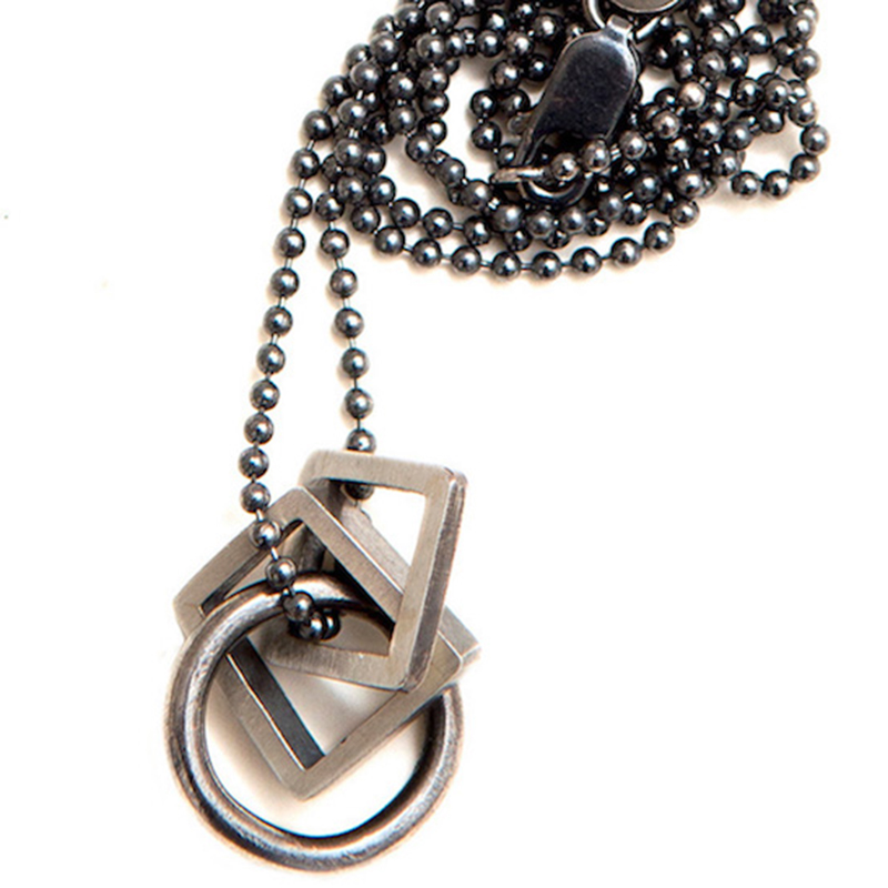 Interlocking Pendant and Chain