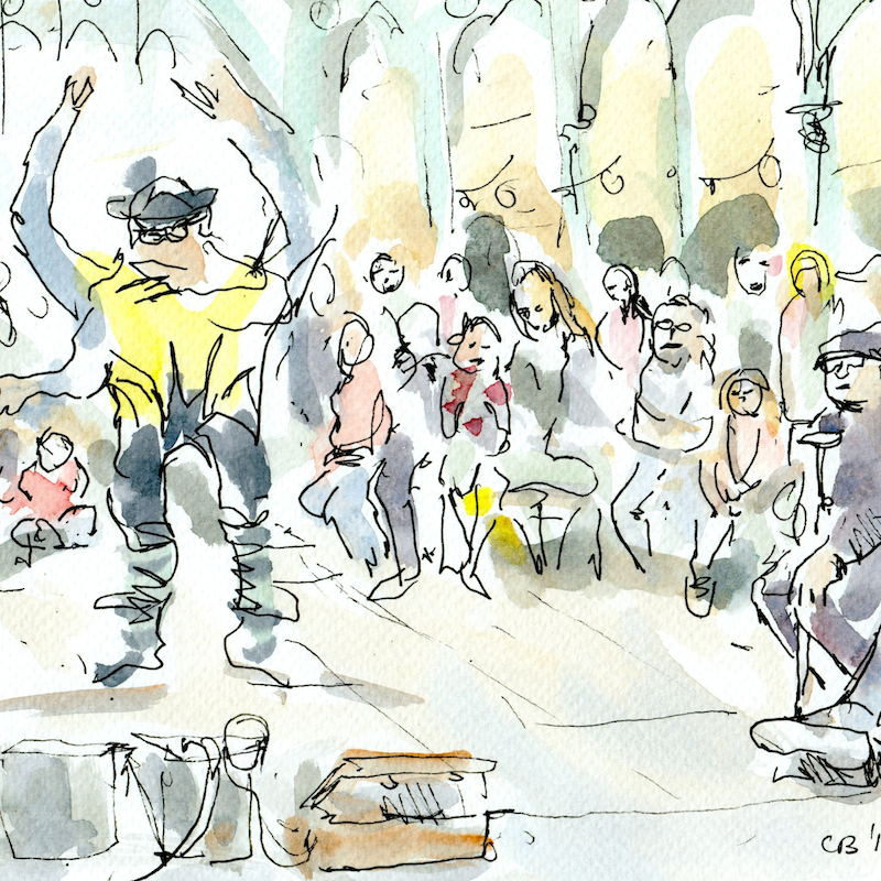 Covent Garden Performer