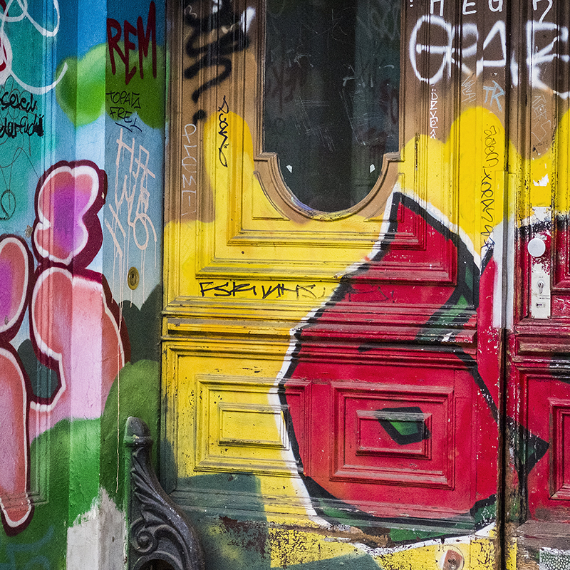 Berlin Yellow Door