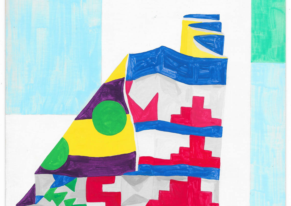 Detail from Louisa Chambers Ziggurat