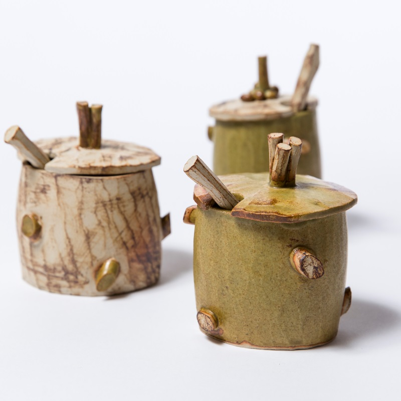 Woodland Jars with spoons