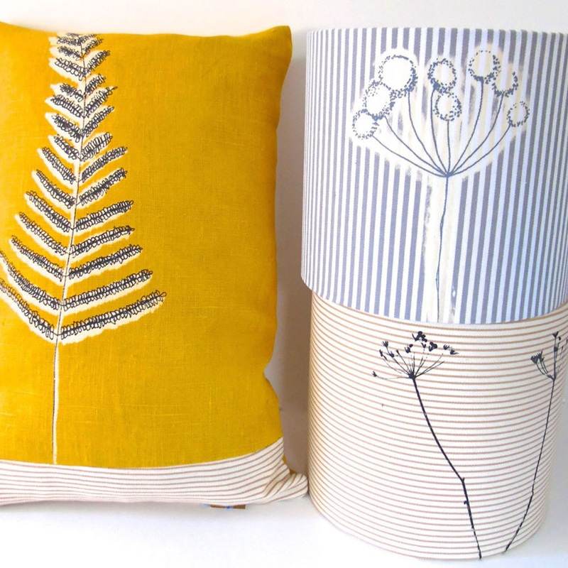 Cushions and lampshades