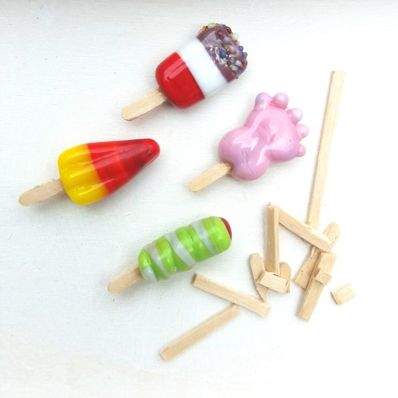 Miniature Ice Lollies