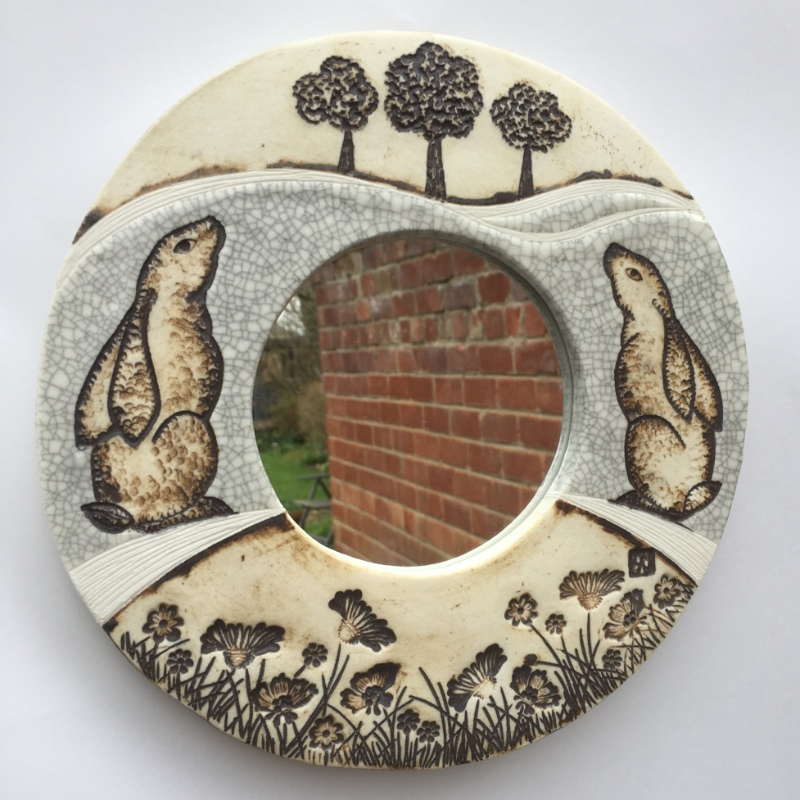 Moon gazing hares mirror