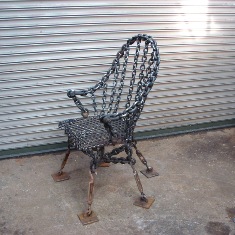 Enchanted Steel Chair
