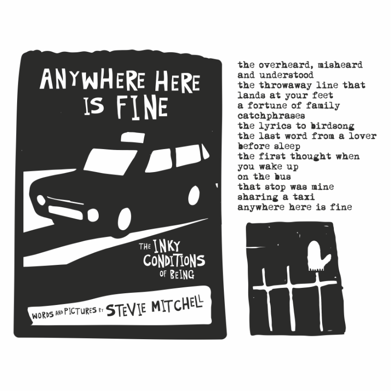 ANYWHERE HERE IS FINE