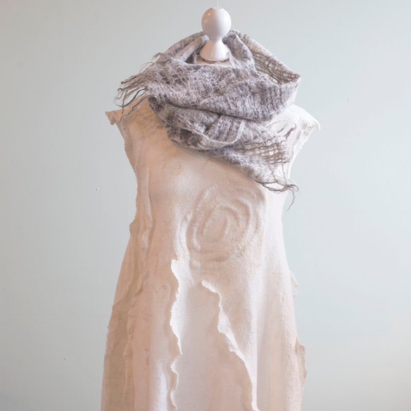 Summer breeze tunic and scarf