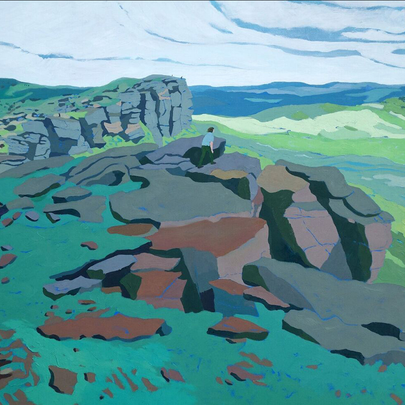 Stanage Edge August Morning