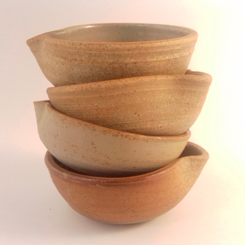 Wood Fired Oil Bowls