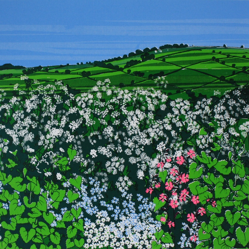 Forget-me-not hedge