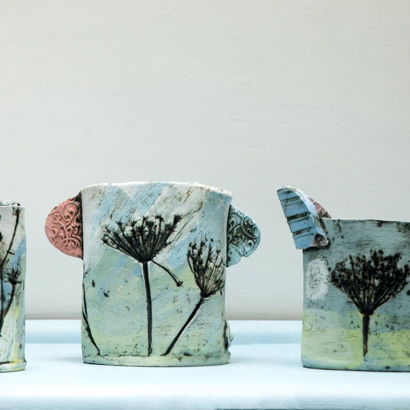 Cow Parsley vessel