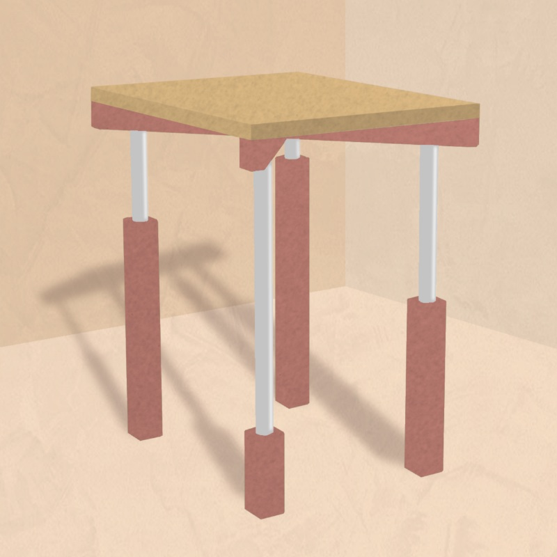 Design for Odd Socks Table
