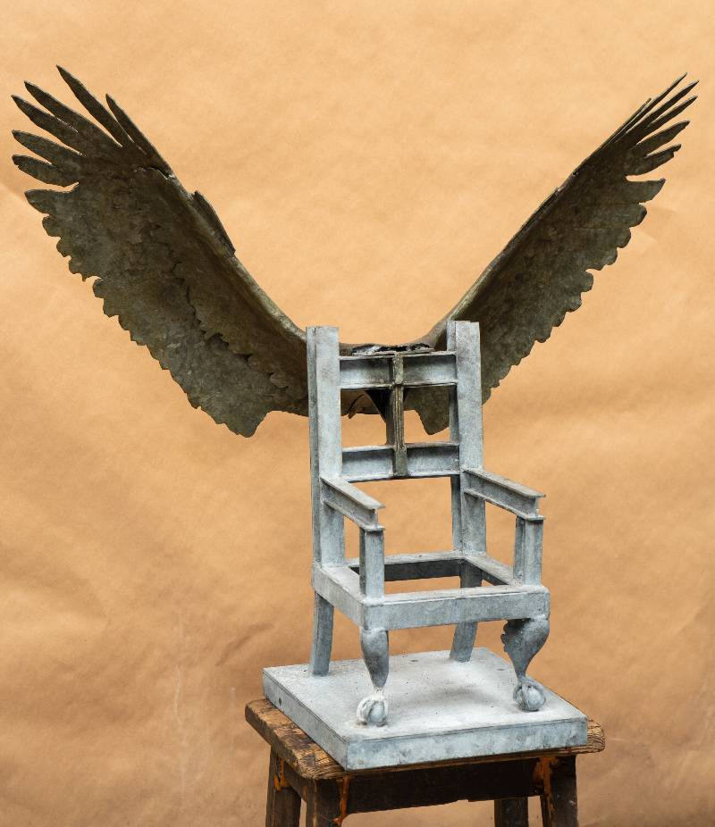 Kirkby Throne Maquette