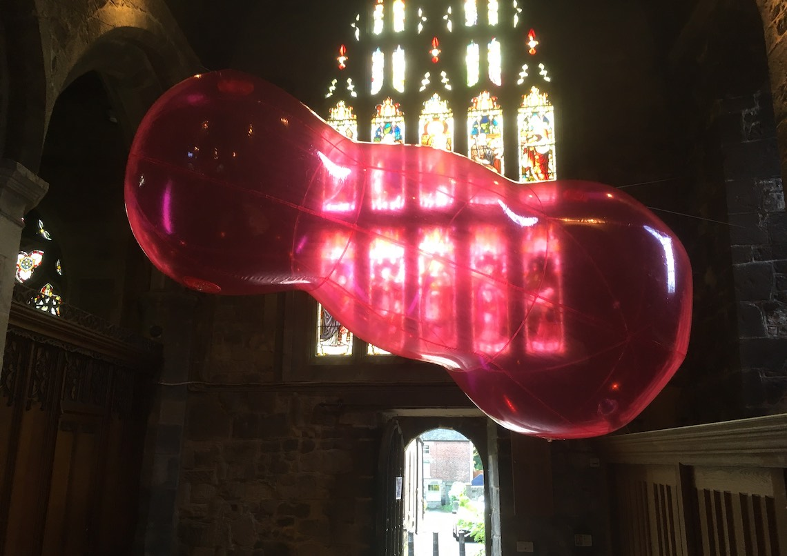 Michael Shaw installation, St Marys 2019