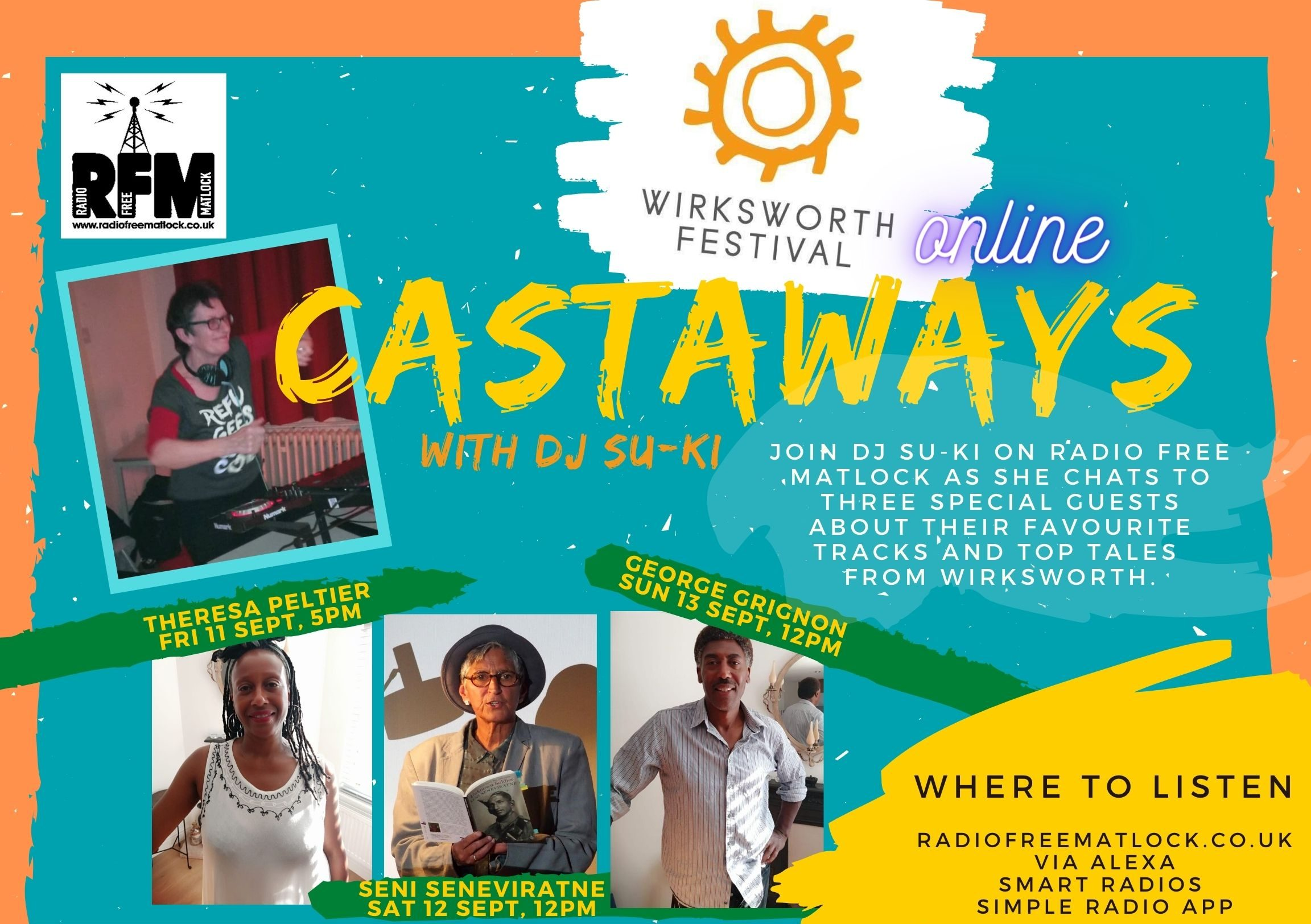 Castaways from Wirksworth with DJ Su-ki